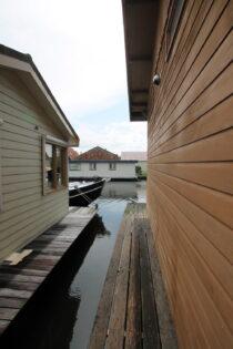 Exterieur VISKUS woonschepenhaven 9 Lemmer - woonark  te koop bij Scheepsmakelaardij Fikkers - 12 / 28