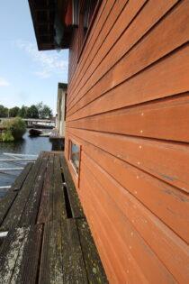 Exterieur VISKUS woonschepenhaven 9 Lemmer - woonark  te koop bij Scheepsmakelaardij Fikkers - 16 / 28