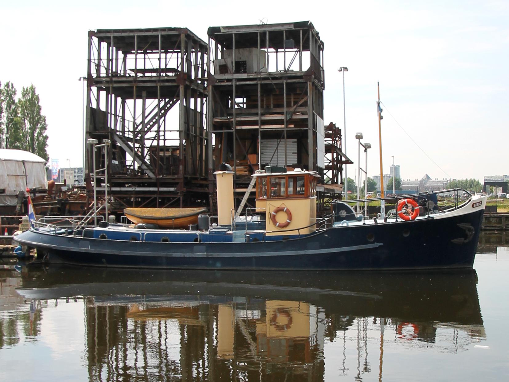 inspectievaartuig   te koop · Ligplaats: Amsterdam · AREND · ref 3149 · Scheepsmakelaardij Fikkers