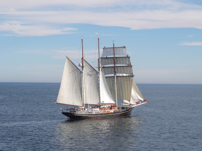 3-mast topsail schooner te koop · Ligplaats: Kampen · GULDEN LEEUW · ref 4038 · Scheepsmakelaardij Fikkers