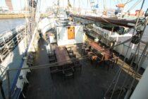 Exterieur Thalassa - three mast barq te koop bij Scheepsmakelaardij Fikkers - 45 / 51