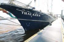 Exterieur Thalassa - three mast barq te koop bij Scheepsmakelaardij Fikkers - 7 / 51