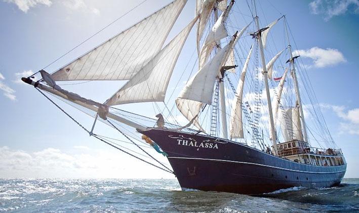 three mast barq te koop · Ligplaats: Harlingen · Thalassa · ref 4058 · Scheepsmakelaardij Fikkers