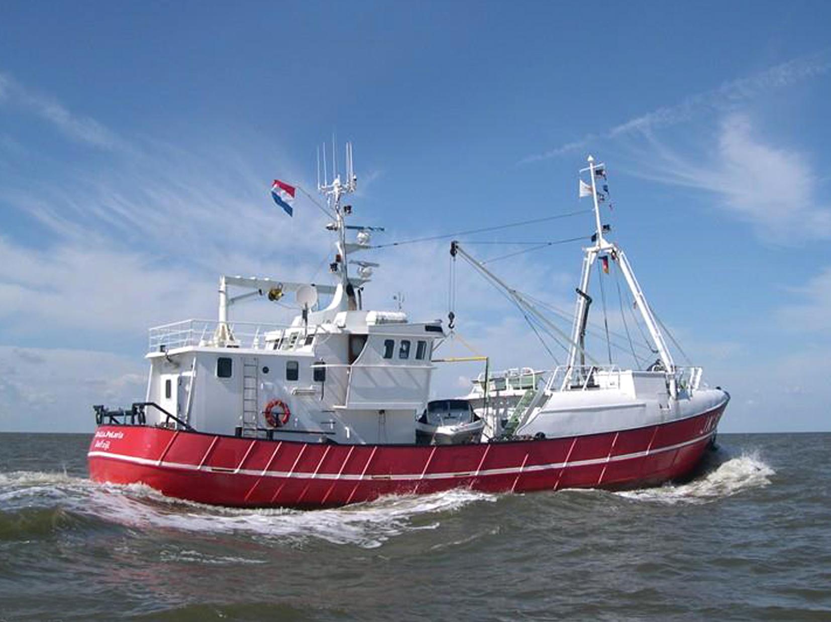 Noordzeekotter   te koop · Ligplaats: Delfzijl  · STELLA POLARIS · ref 4068 · Scheepsmakelaardij Fikkers