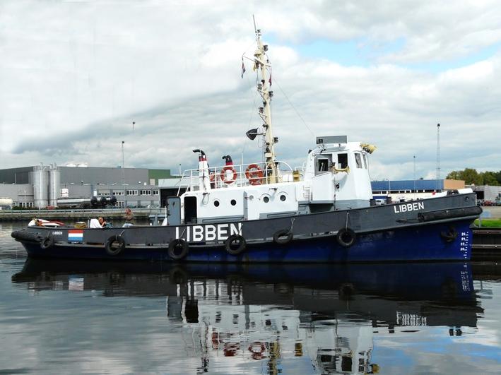 Sleepboot te koop · Ligplaats: Delft · LIBBEN · ref 9050 · Scheepsmakelaardij Fikkers