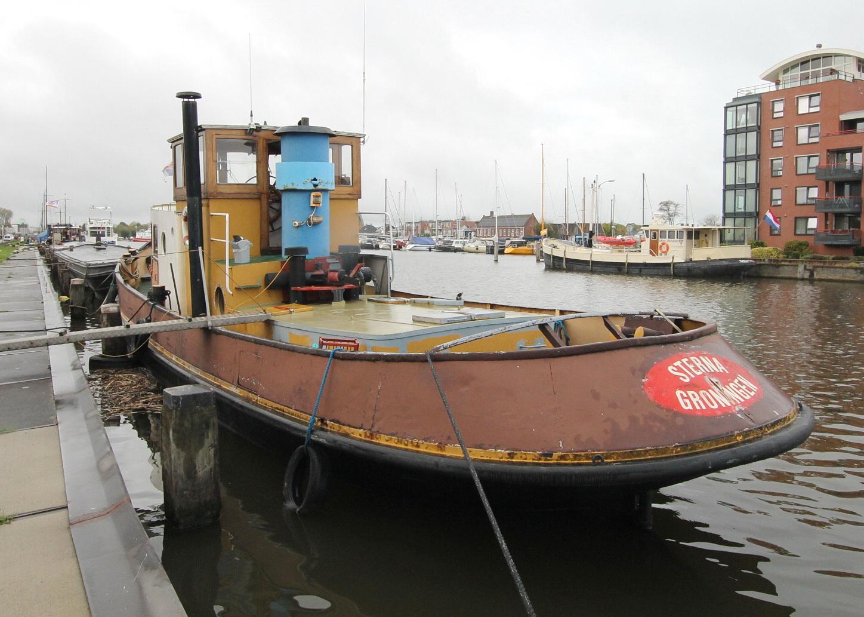 Sleepboot te koop · Ligplaats: Delfzijl · STERNA in prijs verlaagd! · ref 9077 · Scheepsmakelaardij Fikkers