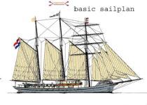 Exterieur GULDEN LEEUW - 3-mast topsail schooner te koop bij Scheepsmakelaardij Fikkers - 38 / 41