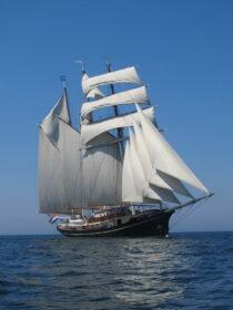 Exterieur GULDEN LEEUW - 3-mast topsail schooner te koop bij Scheepsmakelaardij Fikkers - 1 / 41