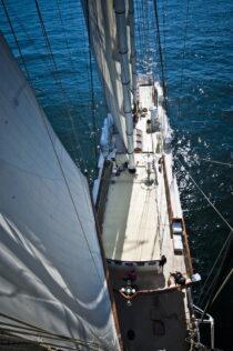 Exterieur GULDEN LEEUW - 3-mast topsail schooner te koop bij Scheepsmakelaardij Fikkers - 32 / 41