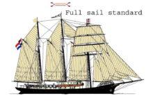 Exterieur GULDEN LEEUW - 3-mast topsail schooner te koop bij Scheepsmakelaardij Fikkers - 39 / 41