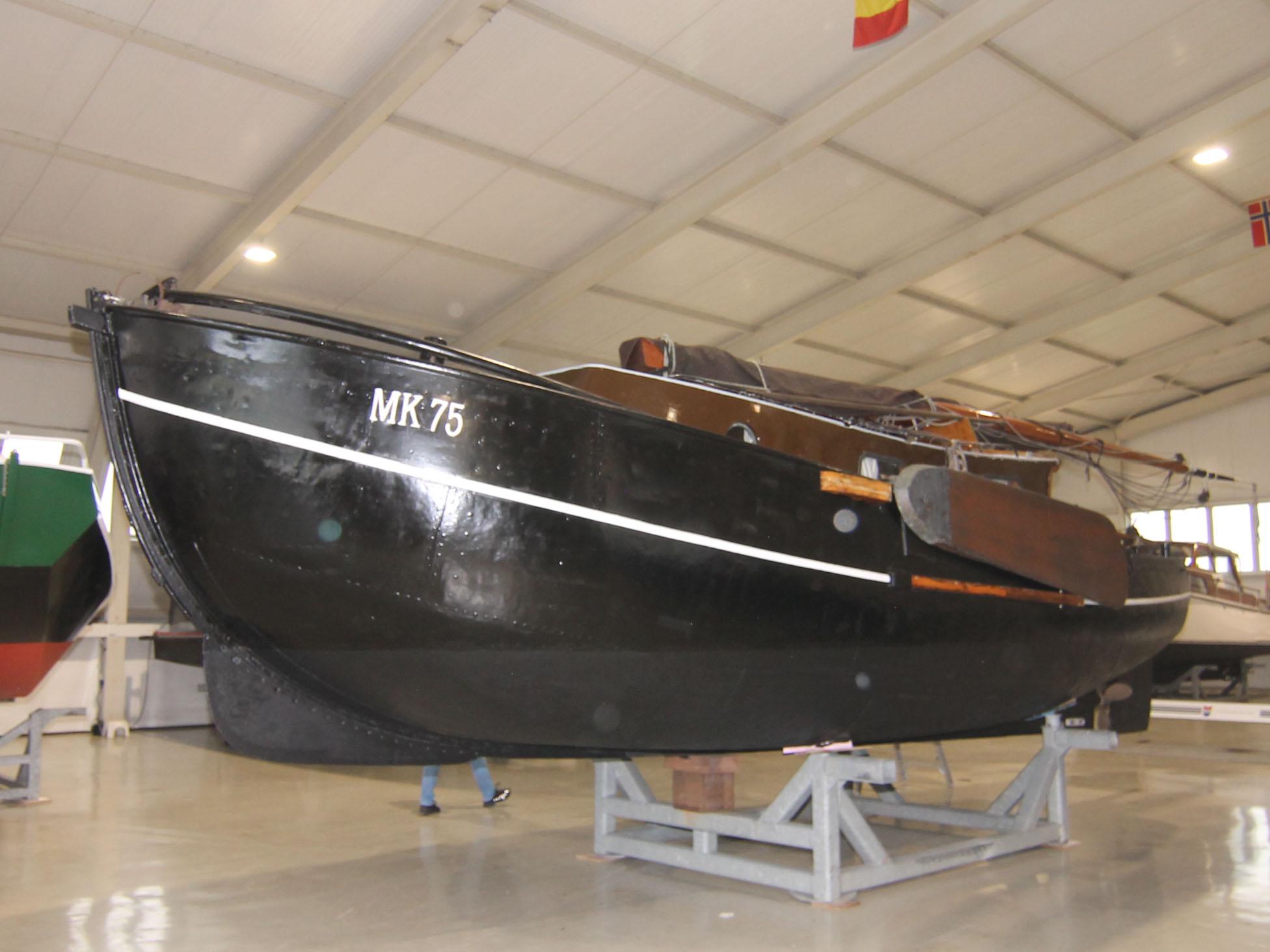 visserschip, Markerrondbouw  te koop · Ligplaats: Zuidbroek · MK 75 · ref 2185  · Scheepsmakelaardij Fikkers