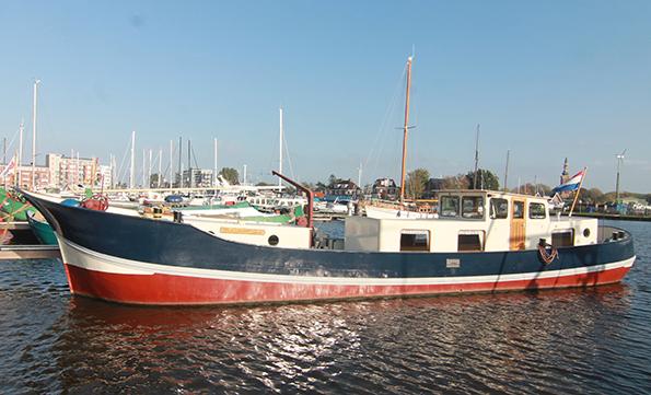 klipperaak te koop · Ligplaats: Delfzijl  · METAMORFOSE · ref 2006 · Scheepsmakelaardij Fikkers