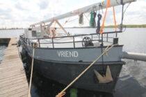 Exterieur VRIEND ex FLANDRIA XV - motorzeilschip,  ex Antwerpens waterbunkerboot  te koop bij Scheepsmakelaardij Fikkers - 2 / 27