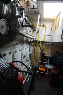 Interieur WILLY - sleepboot te koop bij Scheepsmakelaardij Fikkers - 29 / 30